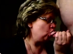 Granny Eats Cum On Webcam