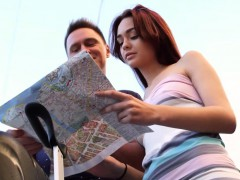 Casual Teen Sex - Michelle - Teen redhead sex in a big city