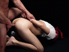 Muscle Daddy Priest Blindfolds And Barebacks A Missionary