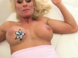 Busty blonde MILF Dyana Hot gets banged in pov style