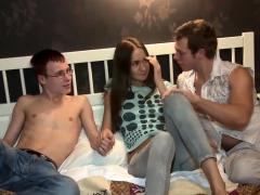 18 Videoz - Mika - Pervert Loves Watching His Gf Fuck
