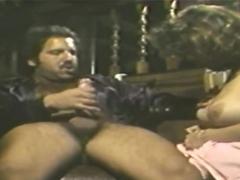 Creampie Classic Big Tits Babe
