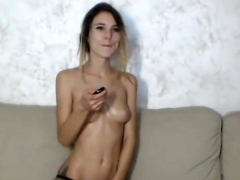 Gorgeous Teen Whore Playing With Her Beaver