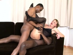 hot milf threesome and cumshot