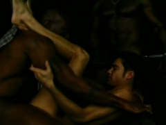 Hot Ghetto Gay Threesome Extreme Anal Fucking And Sucking