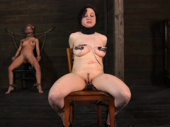 tied-up-serf-receives-taut-mask-with-hard-toy-in-her-cunt