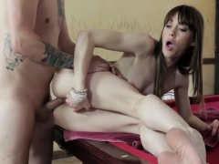 Pov Amateur Pounded On Pool Table