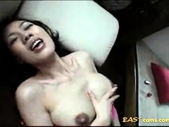 Japanese Milf With Some Milky Tits
