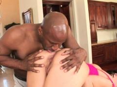 interracial anal pounding with Ashli Orion