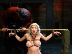 live bdsm big-breasted light-haired hottie cristi ann is