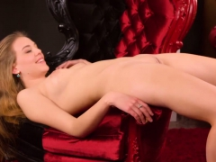 Naked Virgin Spreads Pussy Lips To Show Hymen