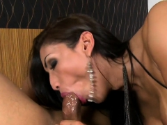 Tranny In Fishnet Top Anal Fucking