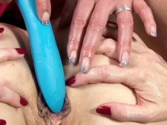 hitzefrei texas patti drills dirty tina's ass with toys – Free XXX Lesbian Iphone