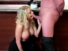 erik-cums-on-her-managers-huge-tits