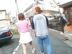 Tiny Asian Redhead Sucking Cock Part3