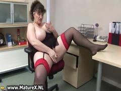 horny-fat-mature-lady-fucks-part1