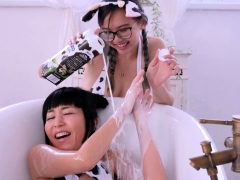 marica hase and harriet sugarcookie glamour in bathtub – Free XXX Lesbian Iphone