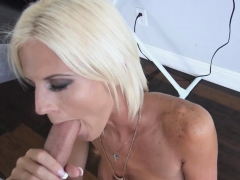 my deviant stepmom dropped to her knees and sucked my dick