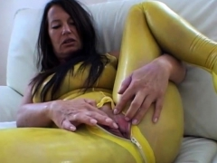 Latexangel - Extreme Latex Kink Gaping Cunthole