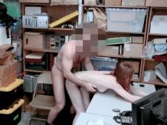 Ginger Slut Set Straight For Shoplifting