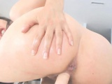 Beautiful MILF closeup masturbation