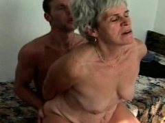 ugly grandma fucked by a stud granny sex movies