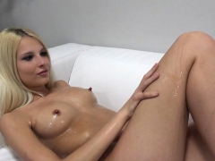 Hot Teen Casting And Cumshot
