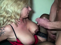 German Milf Boss Fuck Huge Dick Guy In Office