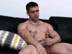 Big Dick Gay Rimjob With Cumshot