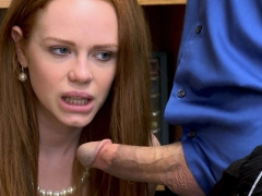 Ella Hughes let officer bang her tight pink pussy nicely