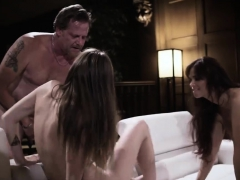 Fucking Both Of His Teen Stepdaughters The Same Time