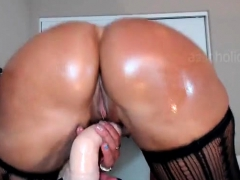 brunette-milf-in-red-stockings-webcam-toying