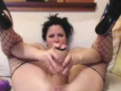 bbw-mature-dildoing-home-alone-masturbation