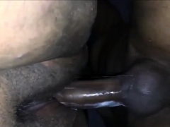 Ebony Amateur Takes Big Black Cock
