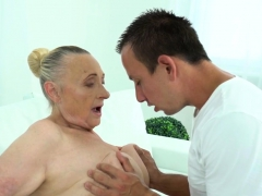 Chubby Old Lady Fucked