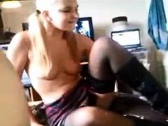 amateur blonde bitch anal