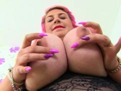 english milf kiki rainbow spoils us with her monster tits PornBookPro