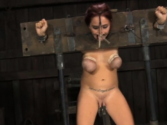 Gorgeous Slaves Are Fastened And Given Hardcore Bdsm Torture