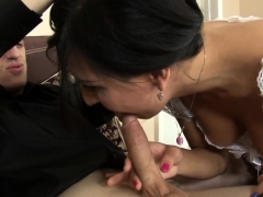 Ass Banged Shemale Cums