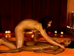 exotic loving female massage