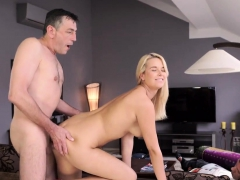 DADDY4K. Skillful dad shares sexual experience with son's…