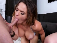 Straight dad fucks hot milf first time Stepplaymate's son