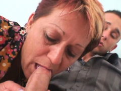 cock-hungry motherinlaw wants his massive dick