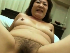 asian granny loves young cock