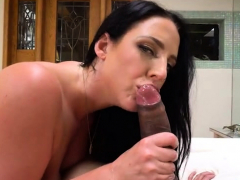 brunette-pornstar-pov-and-cum-in-mouth