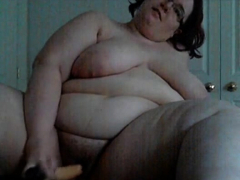 amateur hairy bbw toying 3