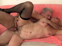 Mature Blonde Cristine Ruby Takes A Hardcore Pounding Porn Video