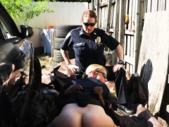 milf cops take advantage of massive black cock