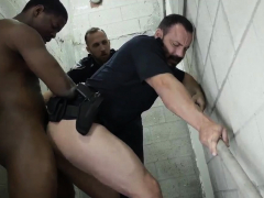 Gay Police Officers Xxx Fucking The White Cop With Some