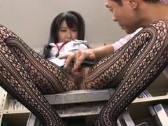 Phallus In Staggering Nipponese Arisa Misato's Quim